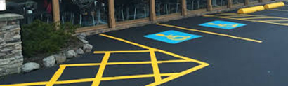 Line Painting at Ideal Services